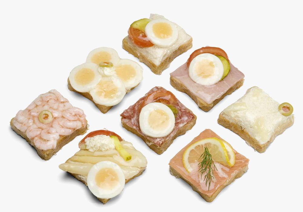 Alles für Ihren Business Lunch: Belegte Brötli, Apéro Häppchen, Fingerfood u. a.