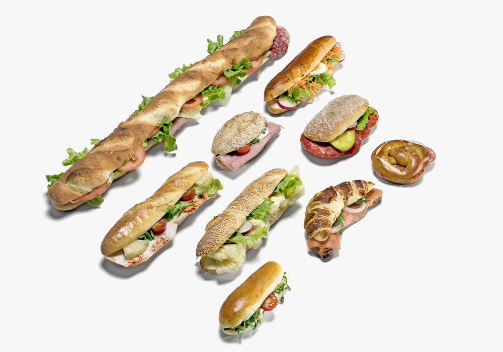 Alles für Ihren Business Lunch: Apéro Häppchen, Fingerfood u. a.