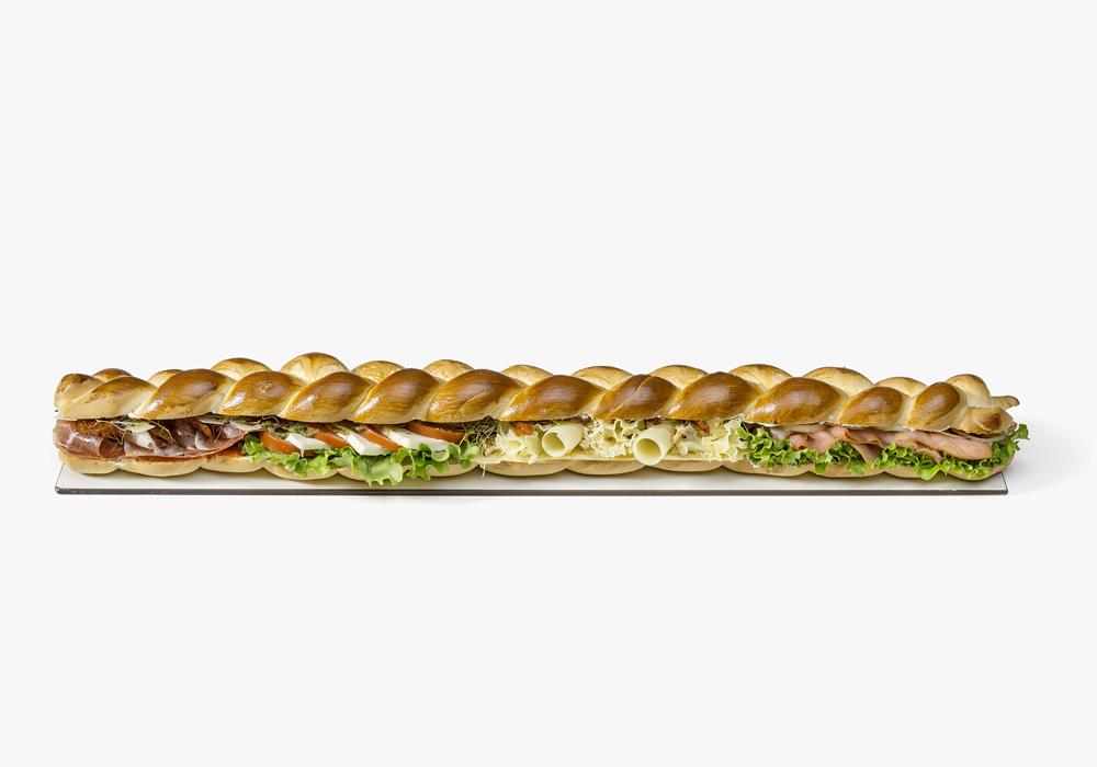 Zopf am Meter – ideal für Ihren Sitzungsapéro oder Business Lunch