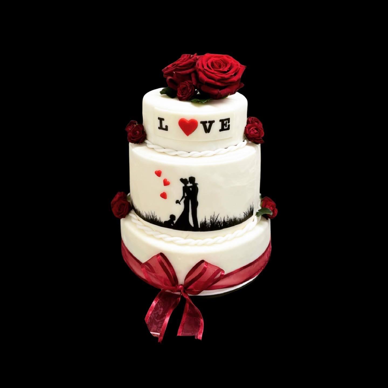 «Liebevolle» Hochzeitstorten